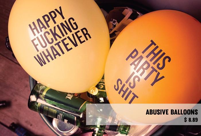 Abusive-balloons