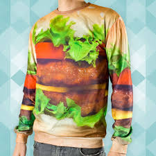 Burger Sweatshirt