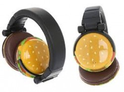 burger headphones