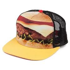 burger trucker cap
