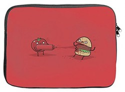 pouch laptop burger