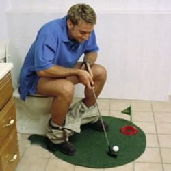 potty putter golf
