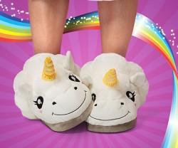 plush-unicorn-slippers