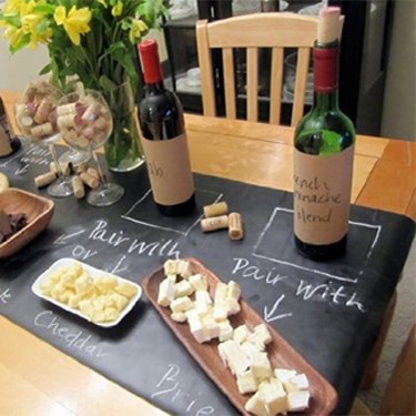 Chalk Board Table Runner