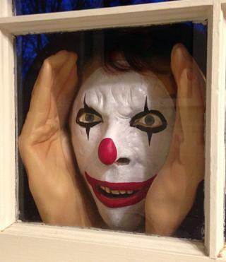 Clown window Prank