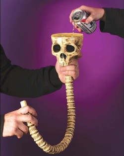 Skull Beer Funnel