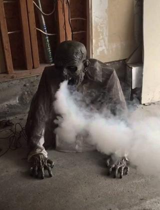 zombie à fumée